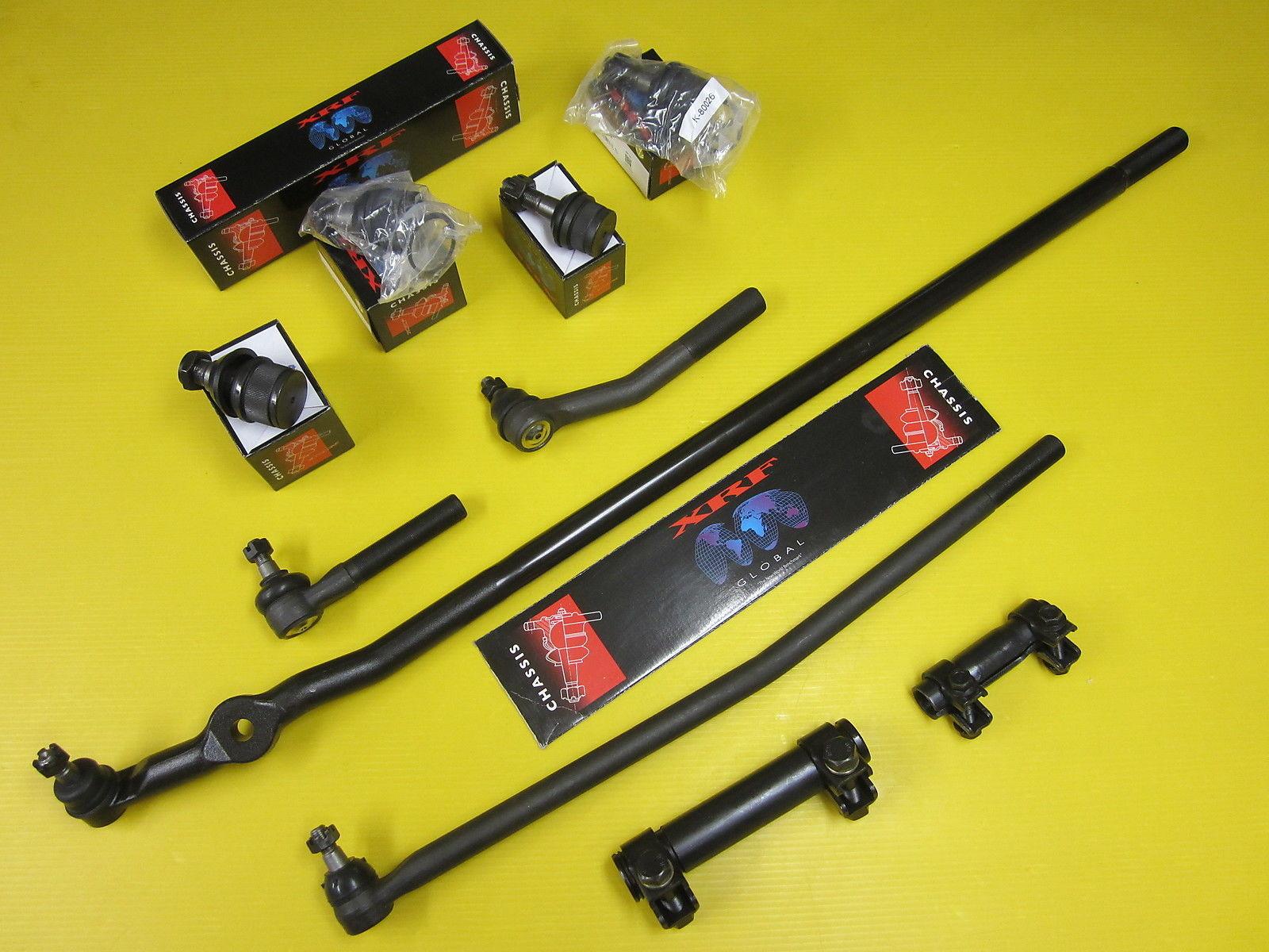 10 Piece Dodge Ram 2500 3500 Ball Joint Steering KIT 1998 – 1999 4×4   Maximum Suspension